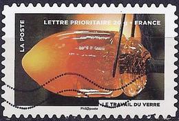France 2012 - Fire : Working Glass ( Mi 5435 - YT AD 753 ) - Adhésifs (autocollants)
