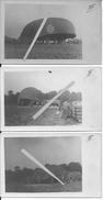 Drachen Allemand Ballon Saucisse Les étapes Du Gonflage à L'élévation Aérostation 8 Cartes Photo 14-18 1914-1918 Ww1 Wk1 - War, Military