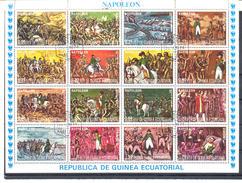 GUINEE EQUATORIALE - Bloc-Feuillet NAPOLEON - Guinée Equatoriale
