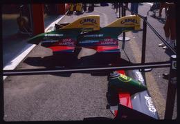 GP F1 Spa Francorchamps 1989 - Lola Larousse LC89  - Diapositive Dia Diapo 35mm Original (142) - Diapositives