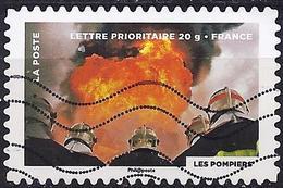 France 2012 - Fire : Firefighters ( Mi 5439 - YT AD 757 ) - Adhésifs (autocollants)