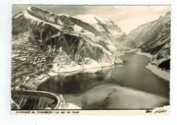 13930  CPM  Barrage Du CHAMBON : , Le Lac En Hiver ; Superbe Carte Photo !! - Unclassified