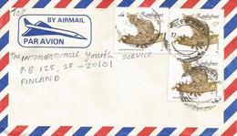 Zimbawe 1991 Glenningra Small-spotted Genet Cat Cover - Zimbabwe (1980-...)