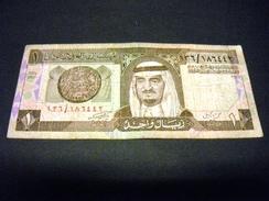 ARABIE SAOUDITE 1 RIYAL 1984, Pick N° 21 B, SAUDI ARABIA - Arabie Saoudite