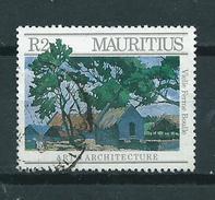 1987 Mauritius Architecture Used/gebruikt/oblitere - Maurice (1968-...)