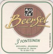 Beersel - 3 Fonteinen   Blanco - Sotto-boccale