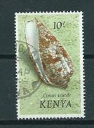 1971 Kenia 10'sh Shell,schelpen Used/gebruikt/oblitere - Kenia (1963-...)