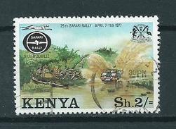 1977 Kenia 2'sh Safari Used/gebruikt/oblitere - Kenia (1963-...)