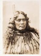 612Bc  Photo Nouvelle Zelande Maori Chieftainess - New Zealand