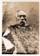 612Bc  Photo Nouvelle Zelande Maori Chief Mahuta Te Teko Tatouages - New Zealand