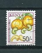 2001 Kenia 50'sh Cashew Nuts Used/gebruikt/oblitere - Kenia (1963-...)