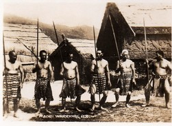 612Bc  Photo Nouvelle Zelande Maori Warriors - New Zealand