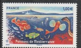 FRANCE 2016 POISSONS DE MEDITERANNEE NEUF** - France