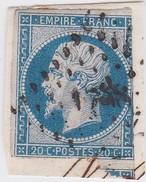 N° 14 A  PC 1788   LUC-EN-DINIS  /  DROME     Planché    - LOT JC  +  VARIETE INDICE 11 COTE 70€ - 1853-1860 Napoleone III