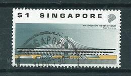 1989 Singapore $1.00 Sporthal Used/gebruikt/oblitere - Singapore (1959-...)