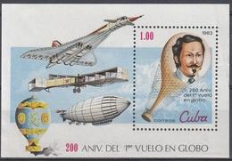 CUBA 1983 HB-75 USADO - Blocs-feuillets