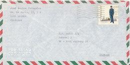 Portugal Air Mail Cover Sent To Denmark Lisboa 15-4-1983 - Airmail