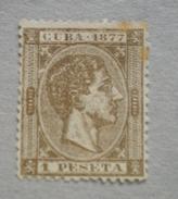 Cu002- CUBA - 1875 - Alfonso II° Yvert N.231  Mnh - - Cuba