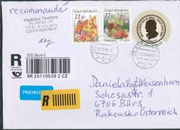 Bohumin Blumenstrauss Wein Winde Rotwein Stilleben Weigelovi   -  B055 - Brieven En Documenten