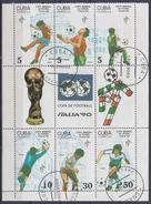 CUBA 1990 Nº 3001/06(EN BLOQUE) USADO - Blocs-feuillets