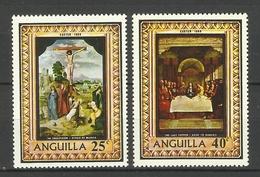 ANGUILLA  1969  EASTER   SET MNH - Anguilla (1968-...)