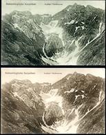 Siebenbürgische Karpathen, 2 Karten, 7.8.1917, Arpasei Vanatoarea, Drotleff - Roumanie