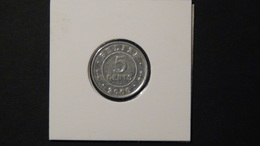Belize - 2000 - 5 Cents - KM 34a - XF - Belize
