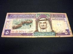 ARABIE SAOUDITE 5 RIYAL 1983, Pick N° 22 B, SAUDI ARABIA - Arabie Saoudite
