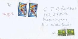 Ghana 2013 Dunkwa Ghana Commercial Bank Transfer Orange Citrus Fruit Cover - Ghana (1957-...)