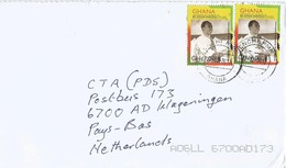 Ghana 2012 Enchi President Nkrumah Cover - Ghana (1957-...)