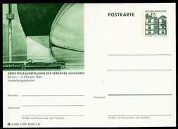 79130) BRD - Bildpostkarte P 86 - A12/91 - * Ungebraucht - 15Pf Tegel - München IVA Ausstellungsbahnhof - [7] West-Duitsland