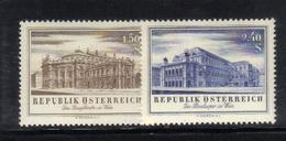XP464 - AUSTRIA 1955 ,  N. 853/854  ***  MNH - 1945-.... 2a Repubblica