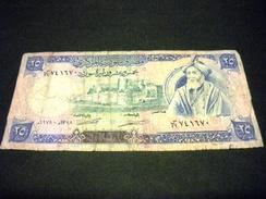 SYRIE 25 Pounds/Livres 1978, 1977-1991, Pick N° 102 B, SYRIA - Siria