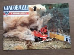 Cartolina Galleria Ferrari Il Plastico Nell'automobilismo Timbro Rosso G. Villenueve E Annullo Maranello 8-5-1992 - Grand Prix / F1
