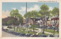 Kentucky Bowling Green Fountain Square 1946 Curteich - Bowling Green