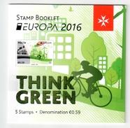 Malta / Malte 2016 MH/booklet EUROPA ** - 2016