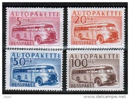 1952 Finland Complete Set Bus Parcel Stamps **.