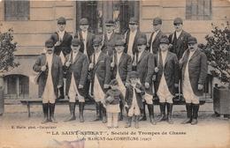 """MARGNY LES COMPIEGNE - """"La SAINT HUBERT"""" - Société De Trompes De Chasse - France"""