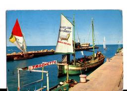 S1686 Cartolina Dell' Emilia Romagna - Cervia, Milano Marittima (Ravenna) Porto Canale + Traghetto _ NAVI NAVE BATEAUX - Italia