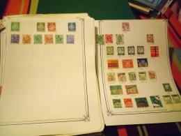 D0896 LOT FEUILLES MONDE A TRIER BELLE COTE DÉPART 10€ - Sammlungen (im Alben)