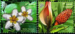 XF0335 Singapore 2013 Plant Flowers 2v MNH - Singapour (1959-...)
