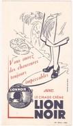 Buvard Lion Noir  Le Cirage Crème - Chaussures