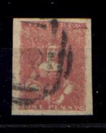 Victoria 1850 Y.T. 1C O/Used VF - Cert. Oliva - Gran Bretagna (vecchie Colonie E Protettorati)