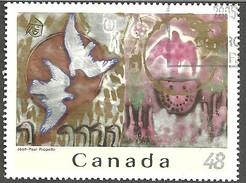 Sc.# 2002e Jean-Paul Reopelle Single Used 2002 K829 - 1952-.... Règne D'Elizabeth II
