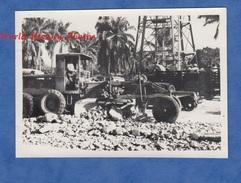 Photo Ancienne - DOUALA , Cameroun - Construction De Rues - 2 Juin 1951 - Engin De Chantier Travaux Publics - Africa