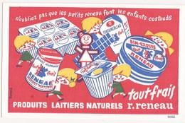Buvard Produits Laitiers TOUT FRAIS - Alimentaire