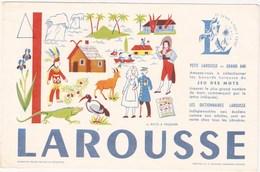 Buvard  LAROUSSE - Buvards, Protège-cahiers Illustrés