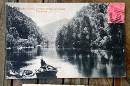 1407 CPA AUSTRALIE TASMANIE ROCKY REACH GORDON RIVER 1908 - Australie