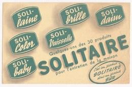 Buvard SOLITAIRE Entretien - Produits Ménagers