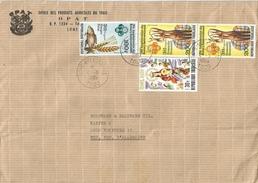 Togo 1980 Lome Nyekonakpoe FAO Fish Rotary Cover - Togo (1960-...)
